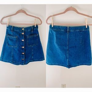 H&M Denim Mini-Skirt